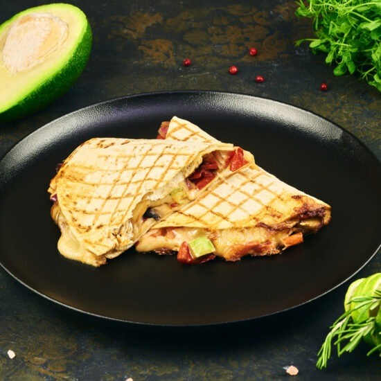 Quesadilla vegetariană